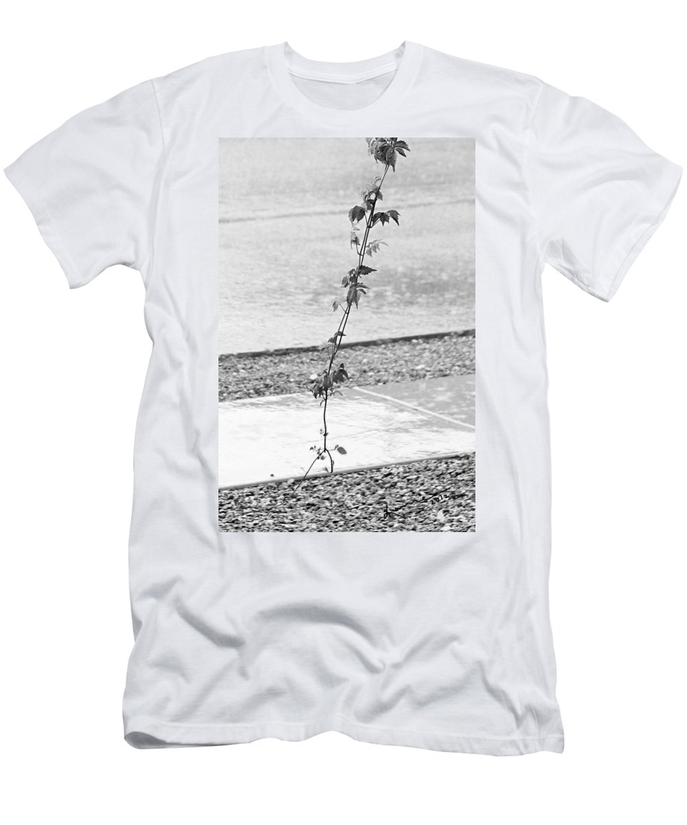 Rain Men's T-Shirt (Athletic Fit) featuring the photograph In The Rain by Kume Bryant