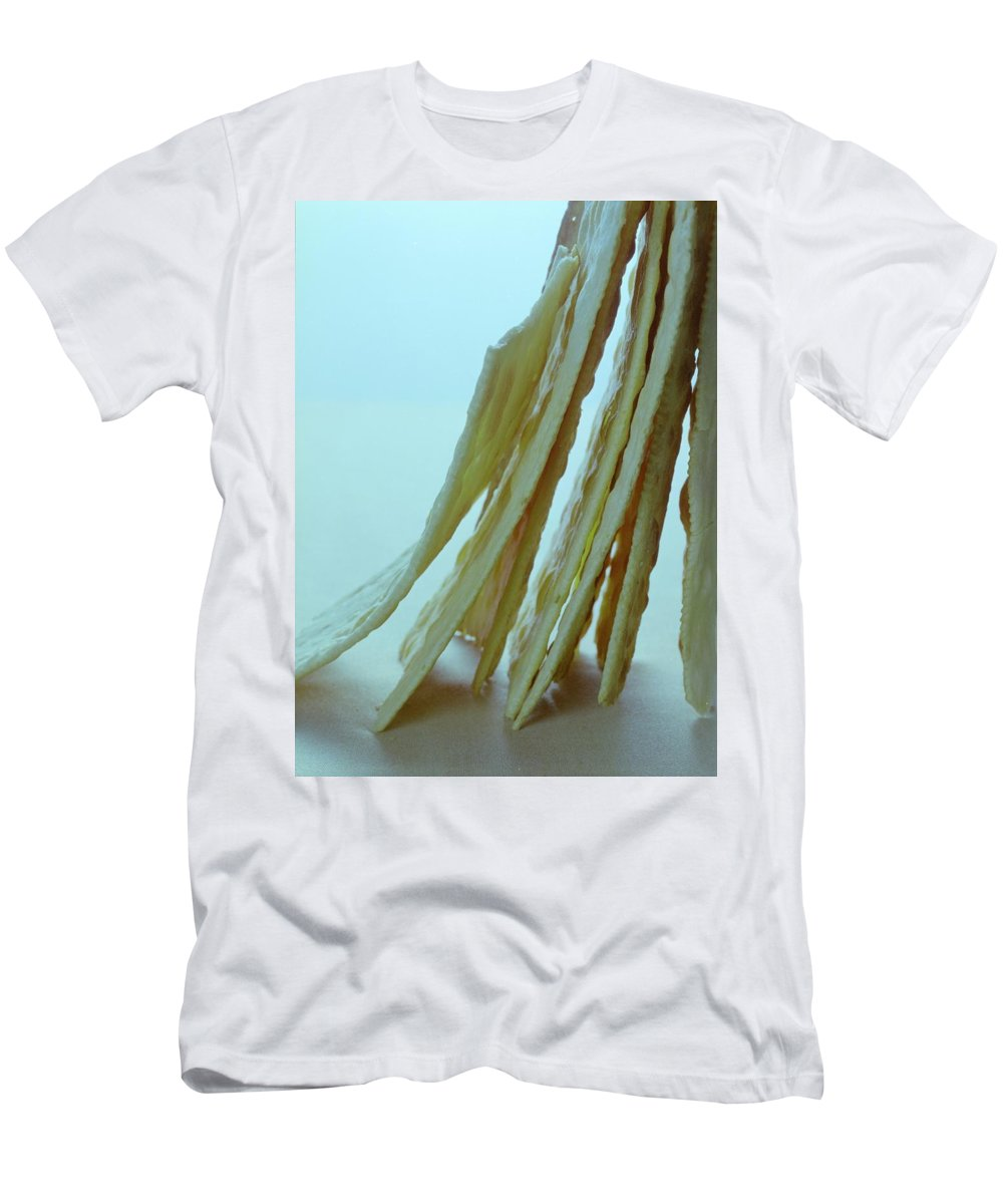Baking Men's T-Shirt (Athletic Fit) featuring the photograph Italian Crackers by Romulo Yanes