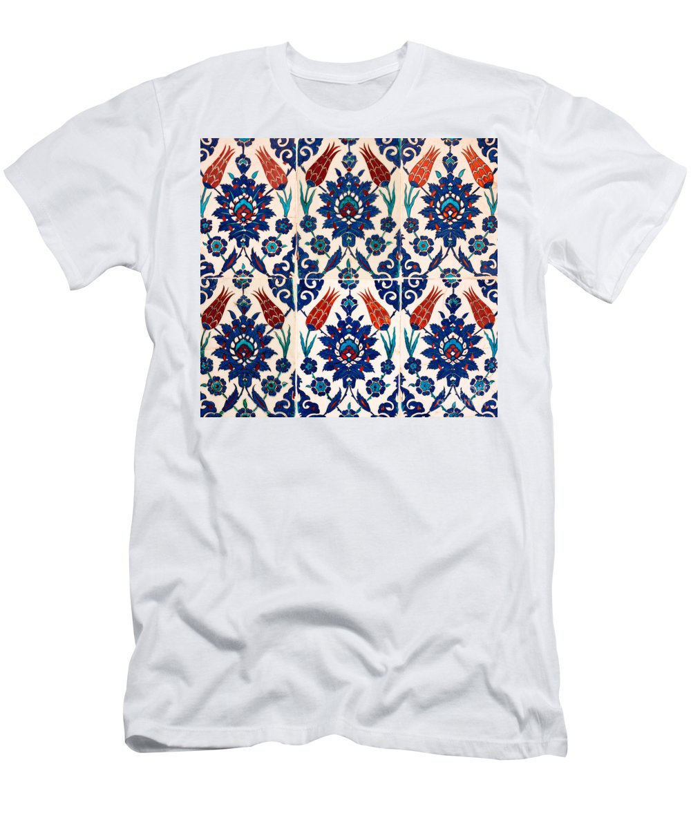 Iznik Men's T-Shirt (Athletic Fit) featuring the photograph Iznik 02 by Rick Piper Photography