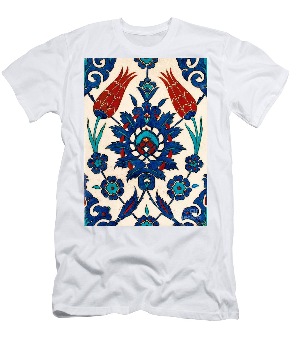 Iznik Men's T-Shirt (Athletic Fit) featuring the photograph Iznik 03 by Rick Piper Photography