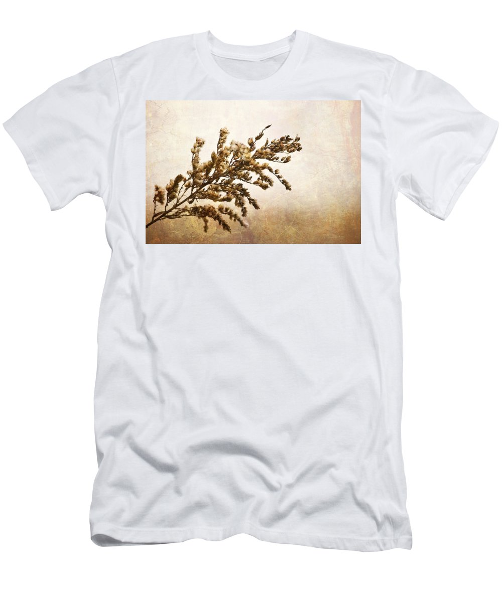 Janice Joplin Men's T-Shirt (Athletic Fit) featuring the mixed media Janice Joplin by Trish Tritz