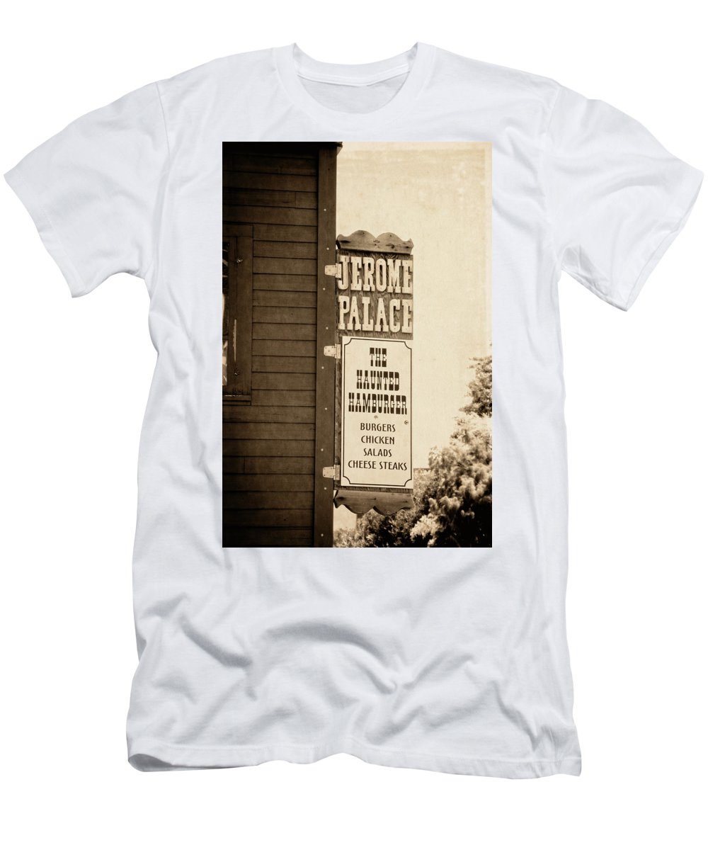 fc1bbe673ba7 Jerome Men s T-Shirt (Athletic Fit) featuring the photograph Jerome Palace  - The