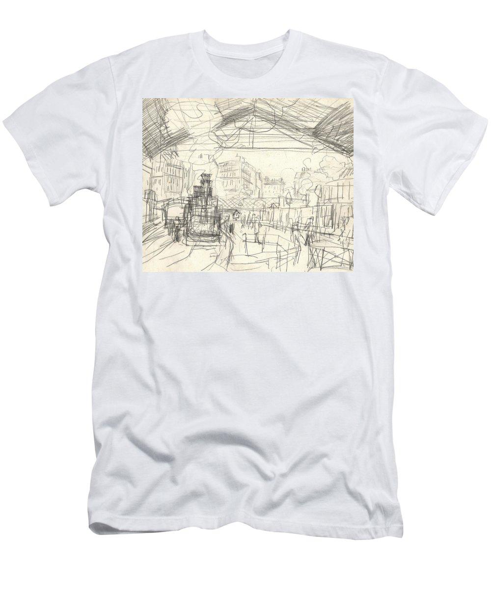 Claude Monet Drawings T-Shirts