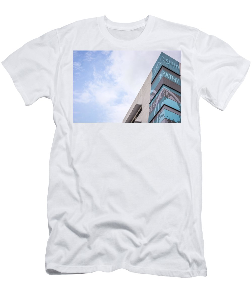 Leadership Men's T-Shirt (Athletic Fit) featuring the photograph Leadership by Jijo George