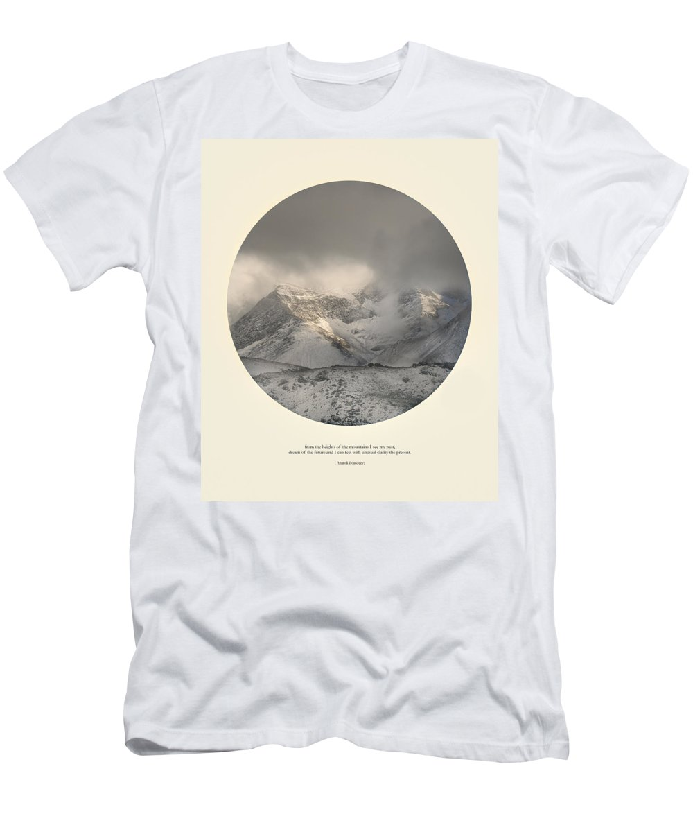 Mountains Men's T-Shirt (Athletic Fit) featuring the photograph Love The Mountains... by Guido Montanes Castillo