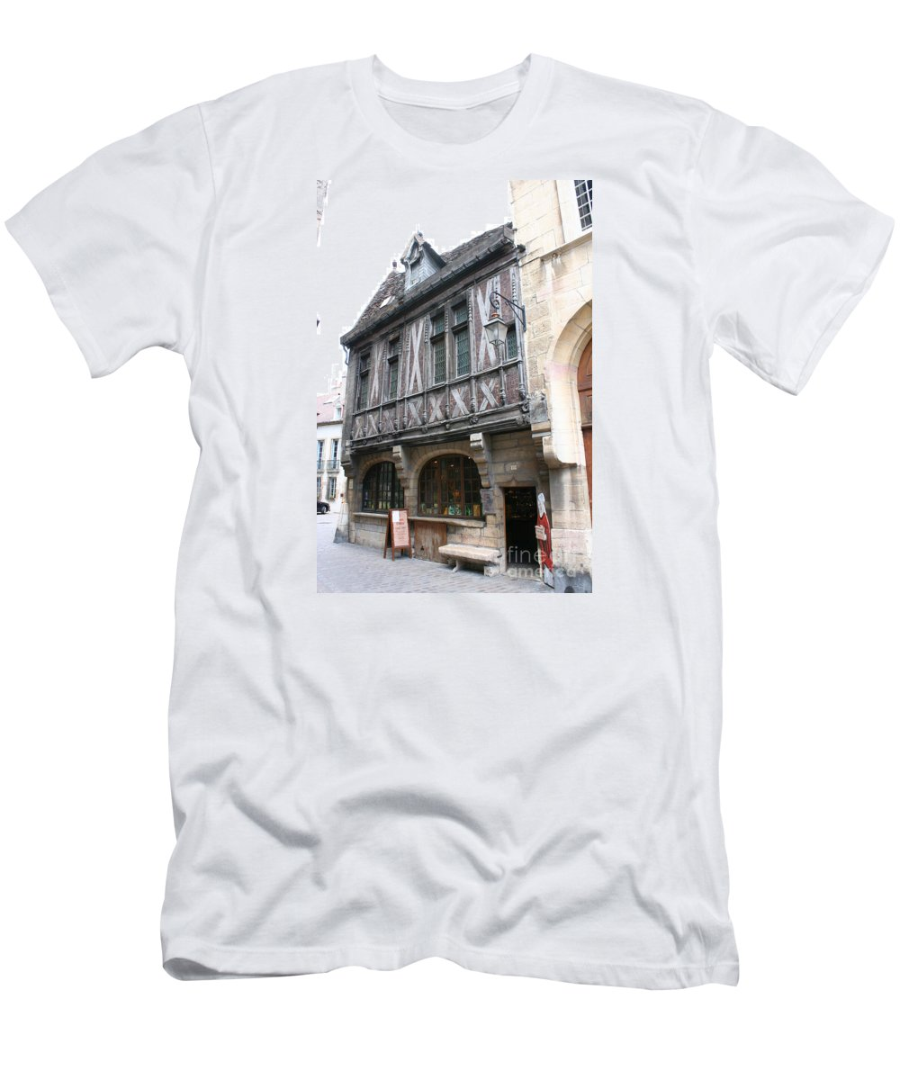 House T-Shirt featuring the photograph Maison Milliere - Dijon - France by Christiane Schulze Art And Photography