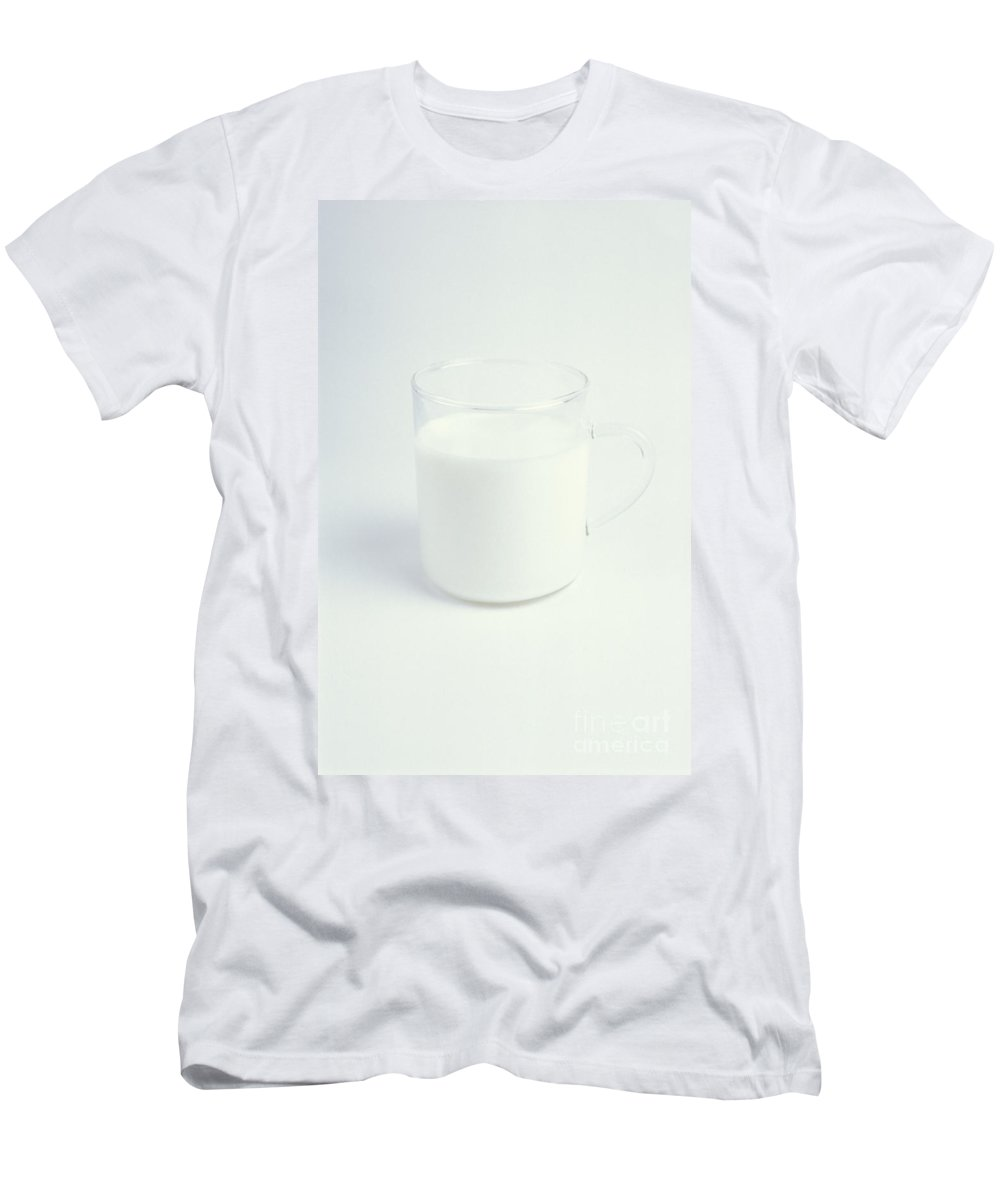 Milk Men's T-Shirt (Athletic Fit) featuring the photograph Milk Is Good by Lana Enderle