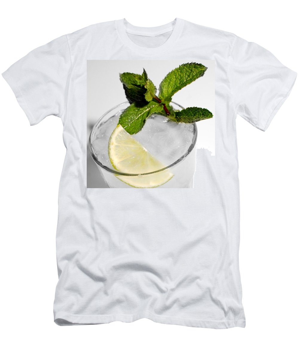 Mojito Men's T-Shirt (Athletic Fit) featuring the photograph Mojito Detail by Gina Dsgn