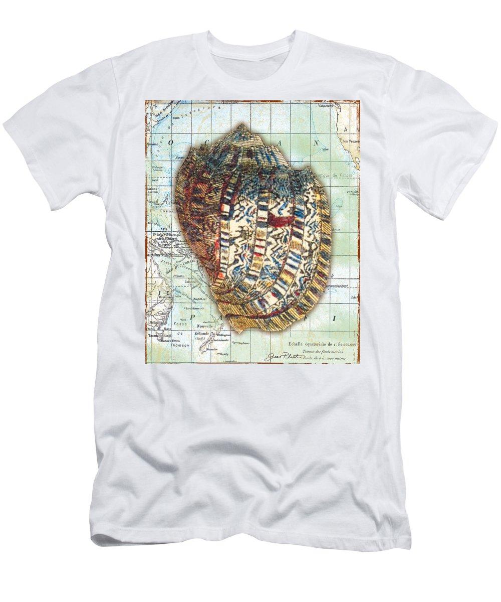 Vintage Men's T-Shirt (Athletic Fit) featuring the digital art Nautical Journey-d by Jean Plout