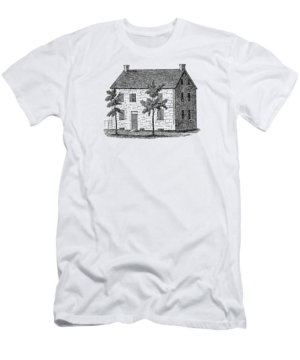 1777 Men's T-Shirt (Athletic Fit) featuring the painting New York Senate, 1777 by Granger