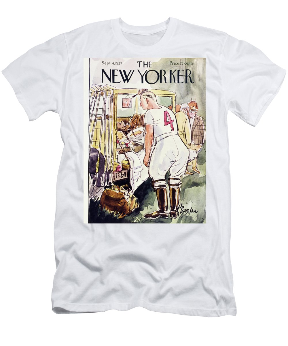 Sport T-Shirt featuring the painting New Yorker September 4 1937 by Perry Barlow