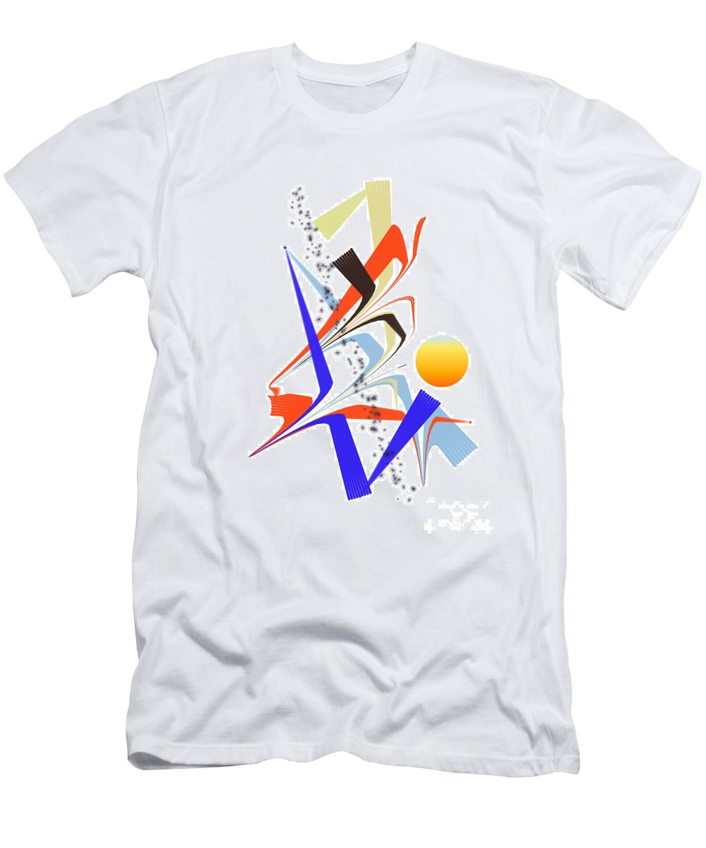 Men's T-Shirt (Athletic Fit) featuring the digital art No. 1123 by John Grieder