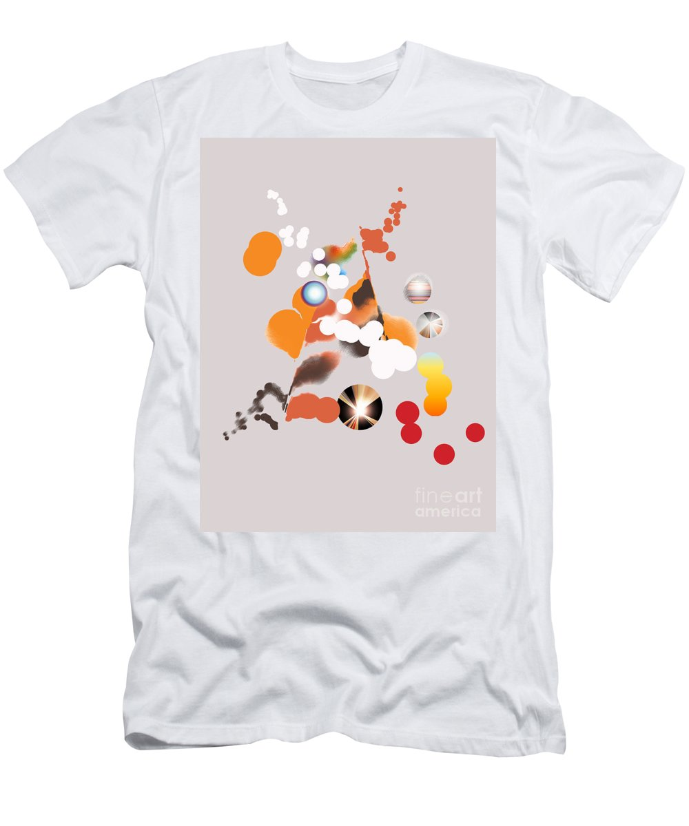 Men's T-Shirt (Athletic Fit) featuring the digital art No. 1130 by John Grieder