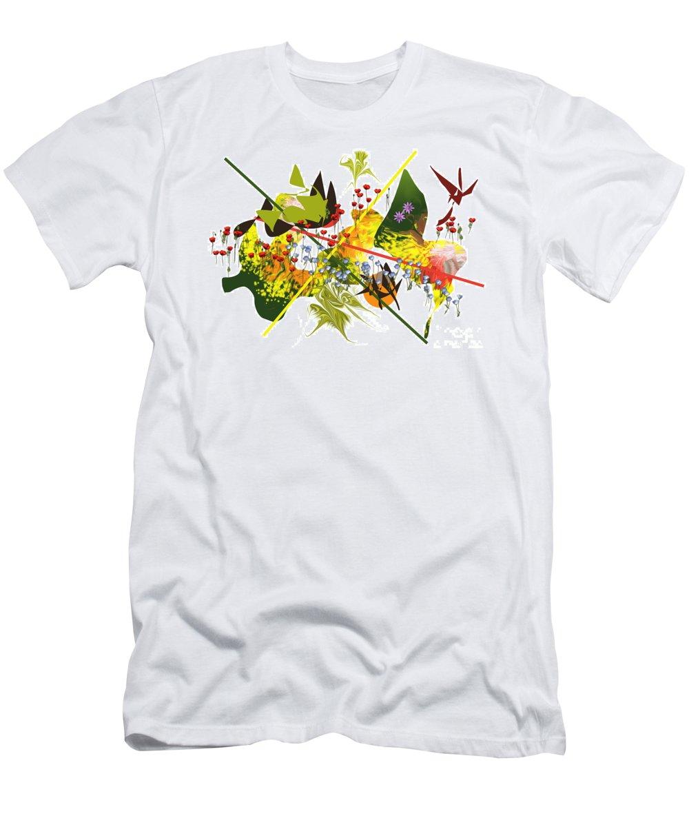 Digital Men's T-Shirt (Athletic Fit) featuring the digital art No. 47 by John Grieder