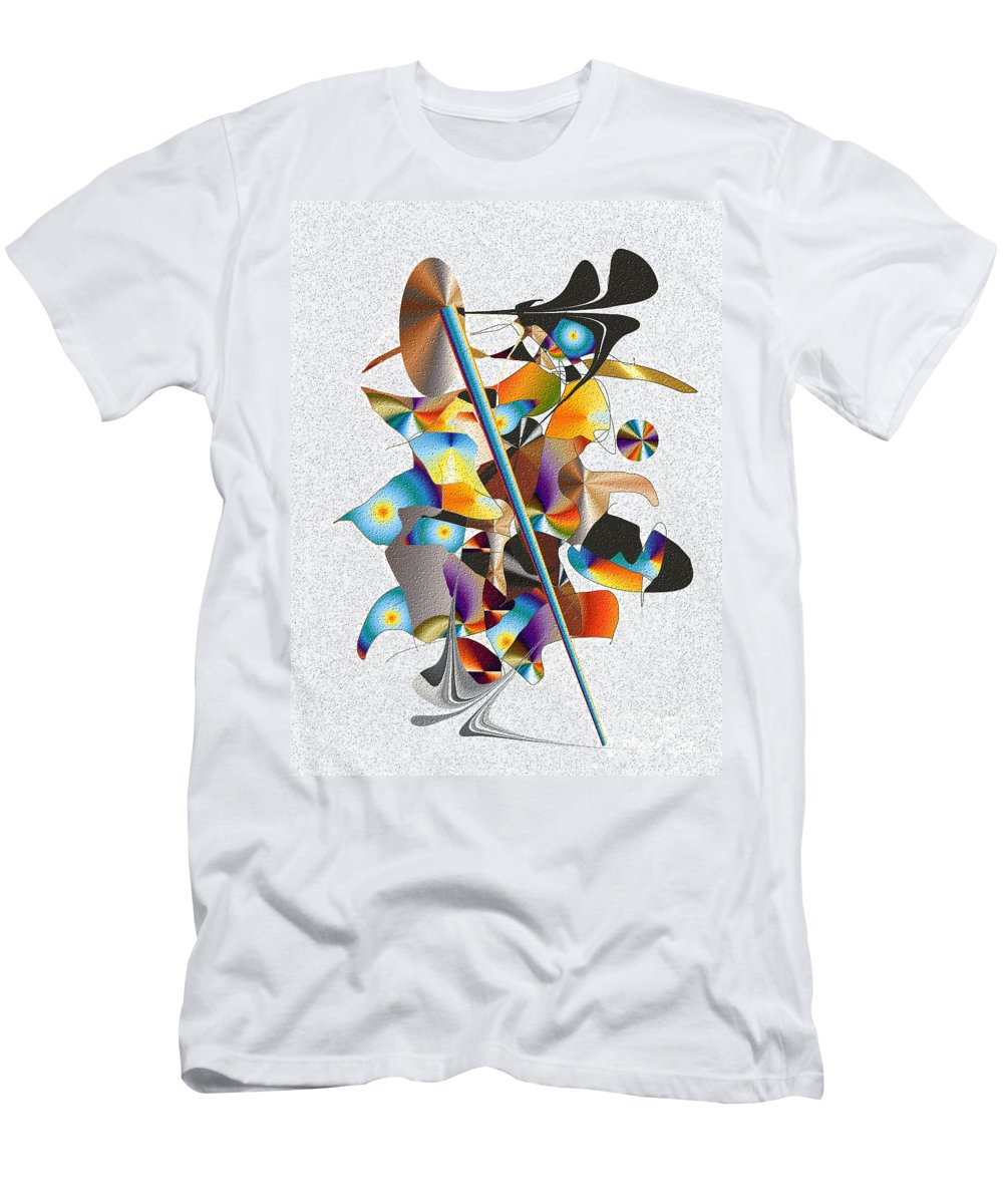 Men's T-Shirt (Athletic Fit) featuring the digital art No. 741 by John Grieder