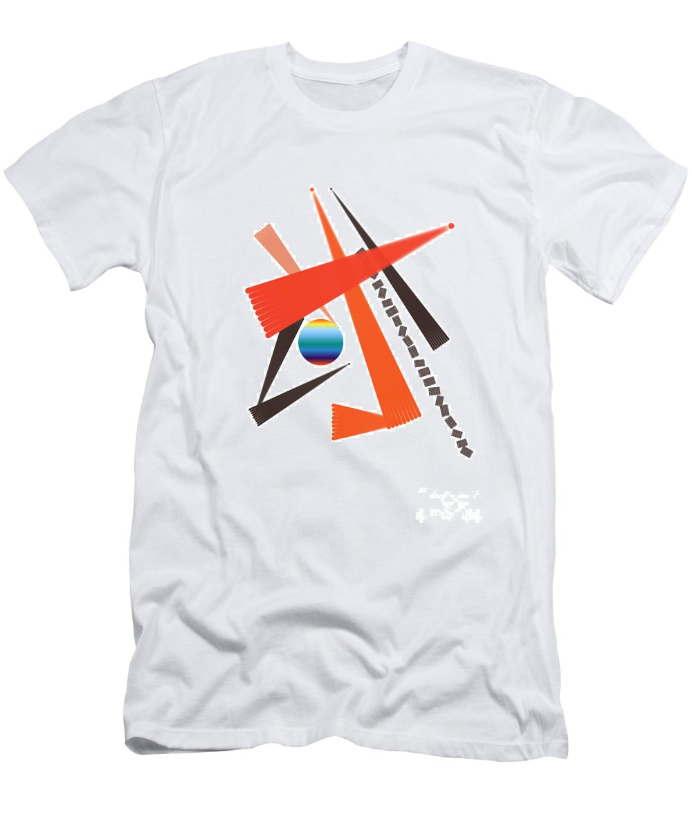 Men's T-Shirt (Athletic Fit) featuring the digital art No. 926 by John Grieder
