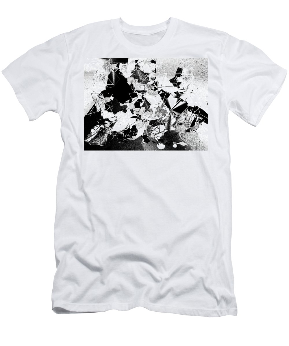 Men's T-Shirt (Athletic Fit) featuring the digital art No. 929 by John Grieder