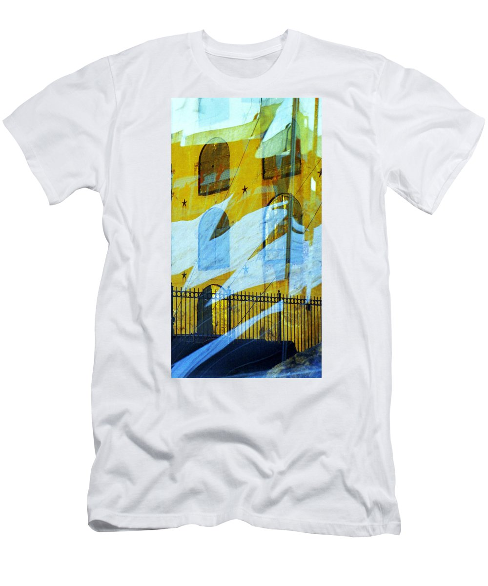 Red Hook Men's T-Shirt (Athletic Fit) featuring the photograph Northern Surrender by Rosie McCobb