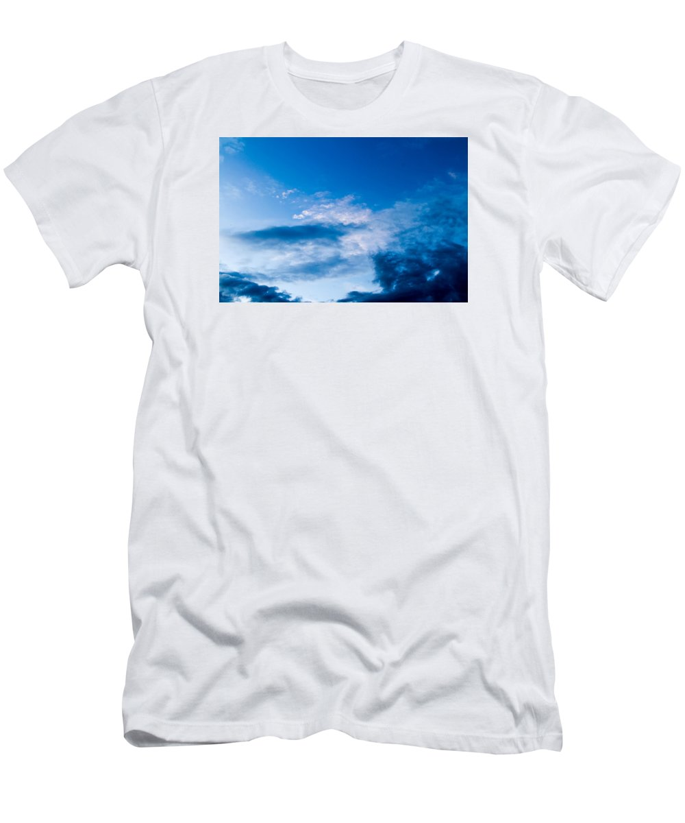 Sky Men's T-Shirt (Athletic Fit) featuring the photograph November Clouds 002 by Agustin Uzarraga
