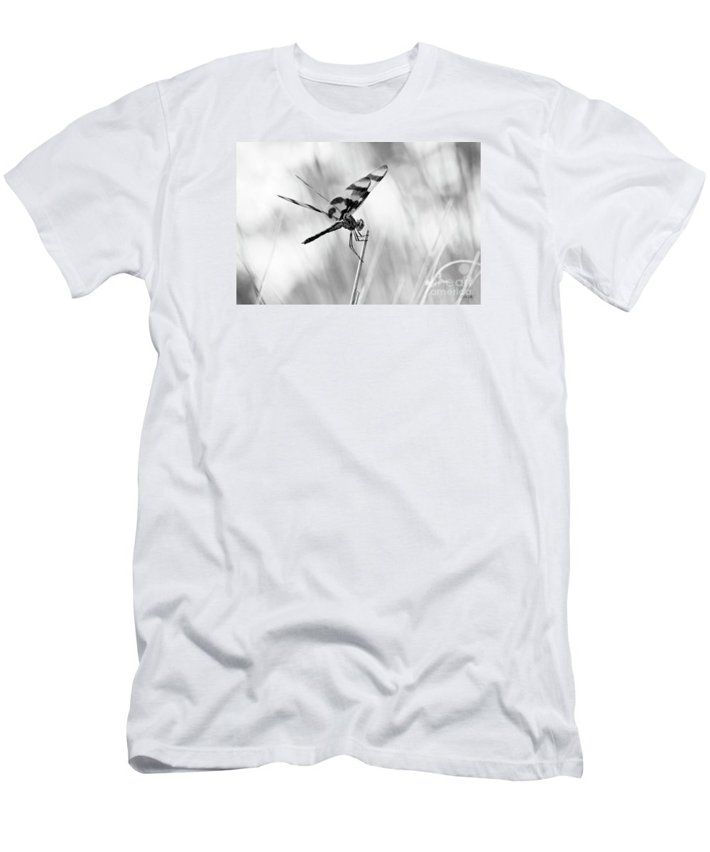 Monroe Men's T-Shirt (Athletic Fit) featuring the photograph On The Launch Pad by Scott Pellegrin