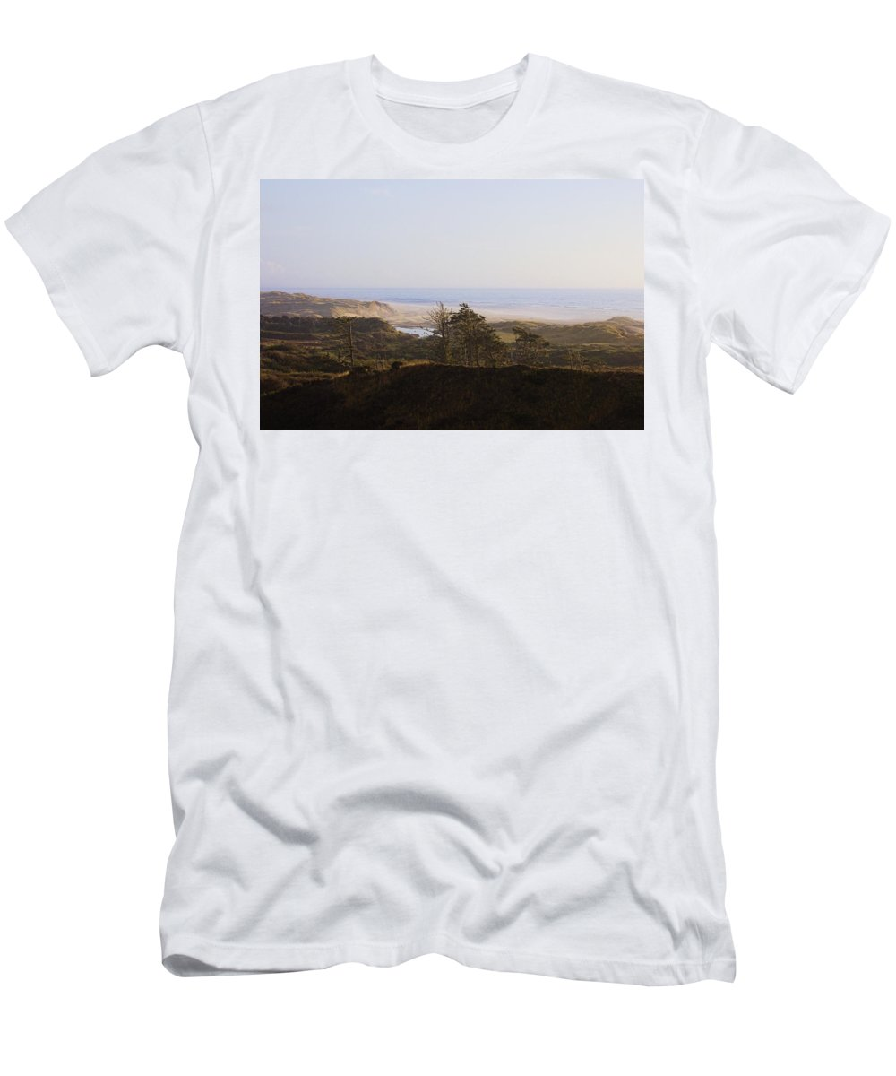 Men's T-Shirt (Athletic Fit) featuring the photograph Oregon Coast 3 by Cathy Anderson
