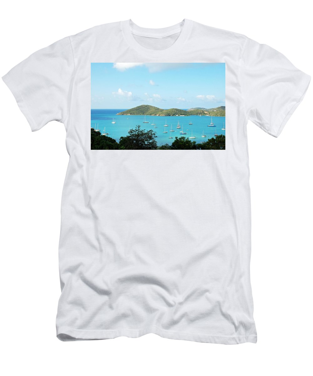 St Thomas Men's T-Shirt (Athletic Fit) featuring the photograph Paradise Awaits by Aimee L Maher ALM GALLERY