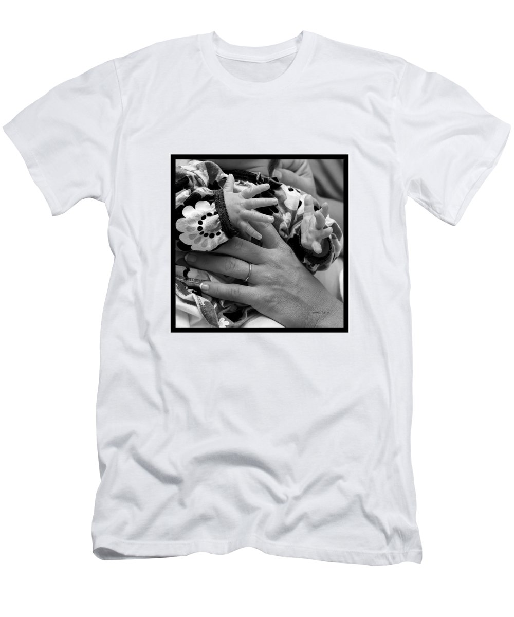 Baby Men's T-Shirt (Athletic Fit) featuring the photograph Parent Support by Edward Peterson