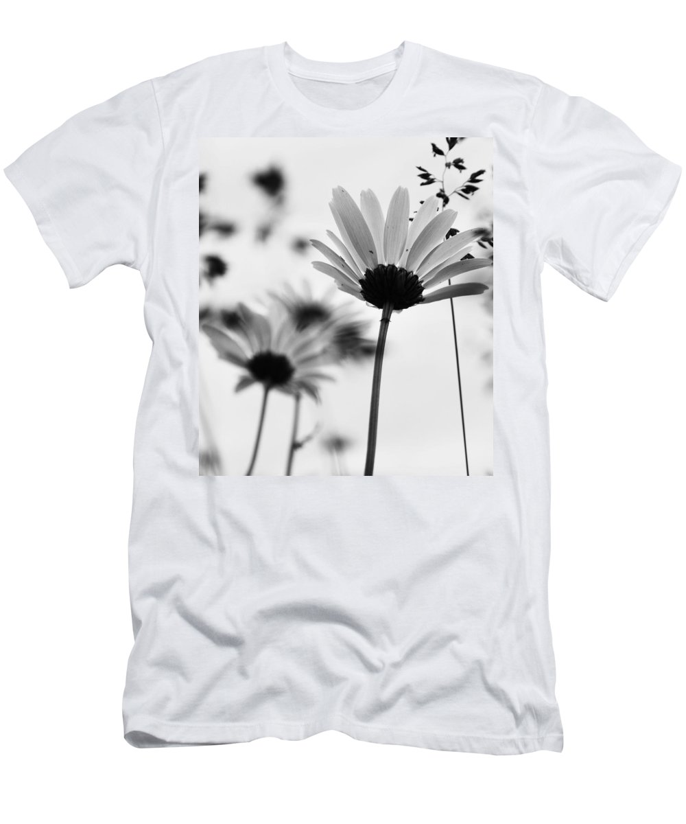 Flowers Men's T-Shirt (Athletic Fit) featuring the photograph Past Is Just by The Artist Project