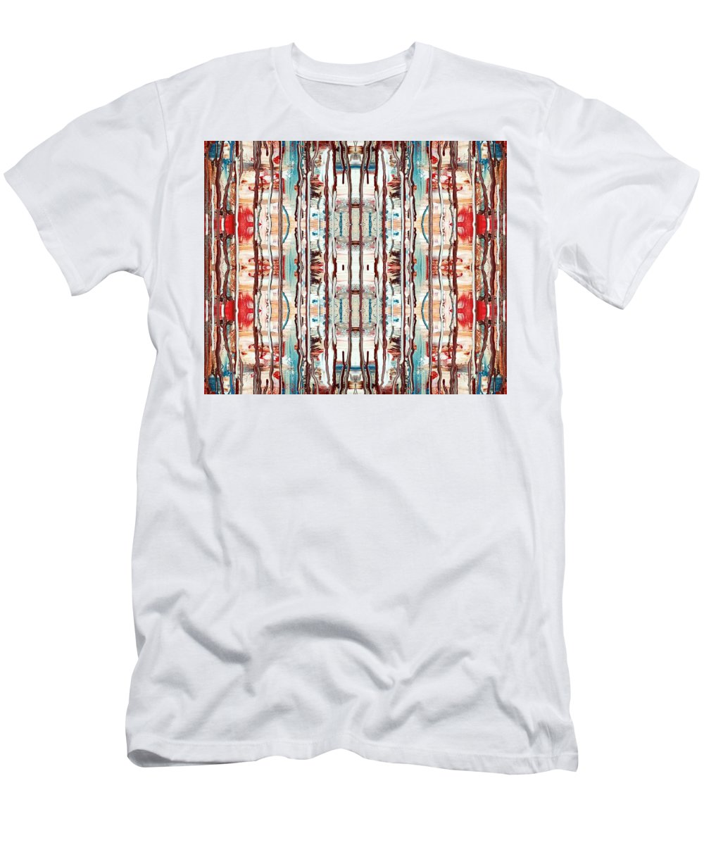 Patterns Men's T-Shirt (Athletic Fit) featuring the digital art Pattern 2 by Lady Ex