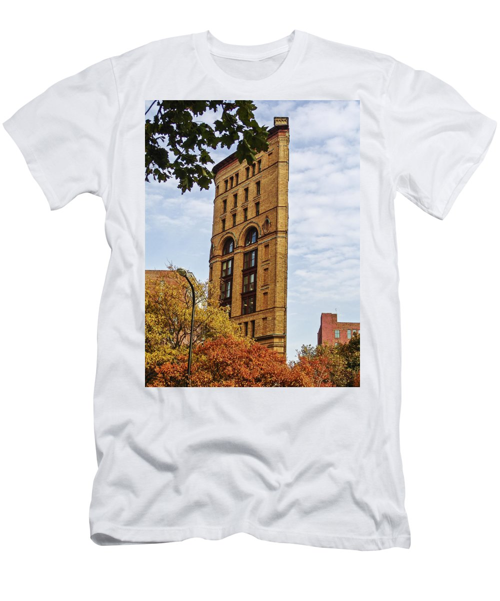 Perspective Men's T-Shirt (Athletic Fit) featuring the photograph Perspective by Eric Swan