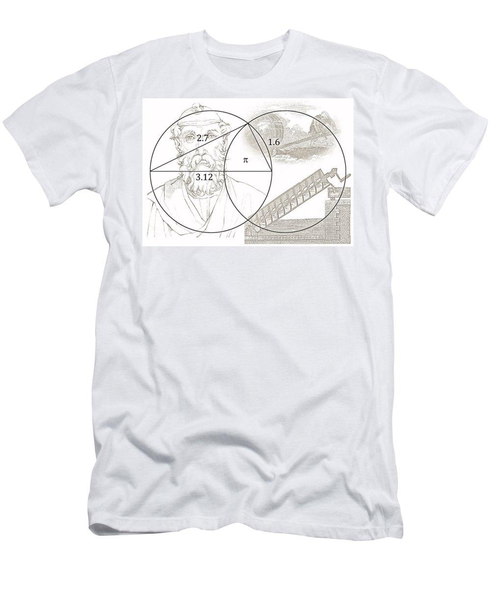 0d81bd2e7 Pi Archimedes T-Shirt for Sale by Daniel Hagerman