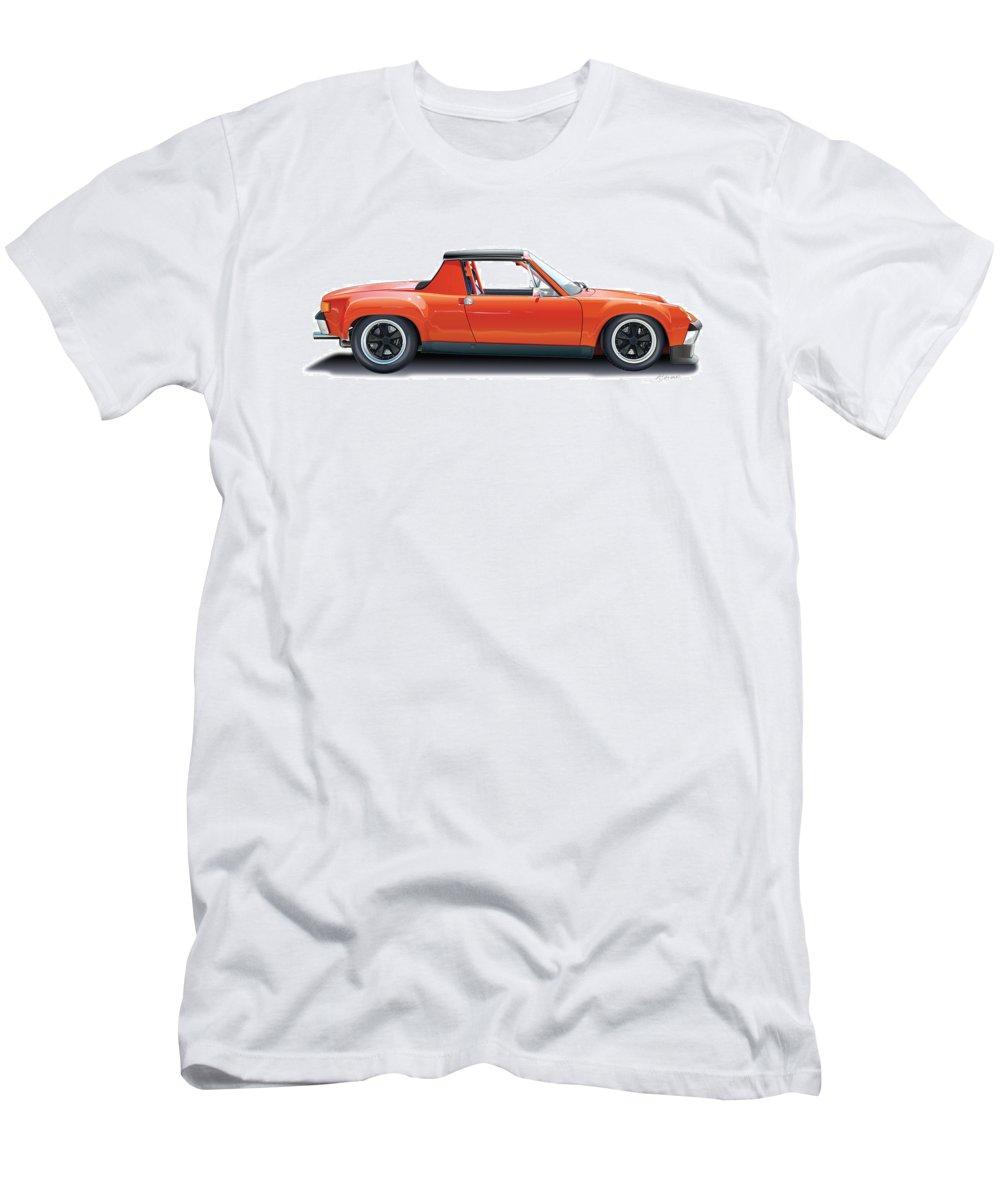 Porsche 914-6 Gt T-Shirt for Sale by Alain Jamar 83d1e14be