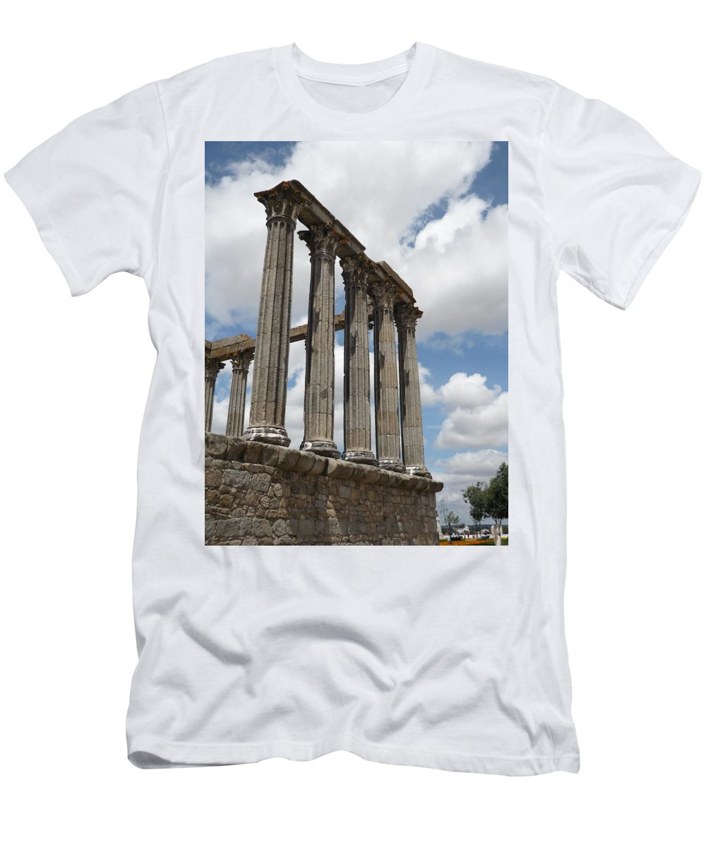 Architecture Men's T-Shirt (Athletic Fit) featuring the photograph Portugal 2 by Kimberly Maxwell Grantier