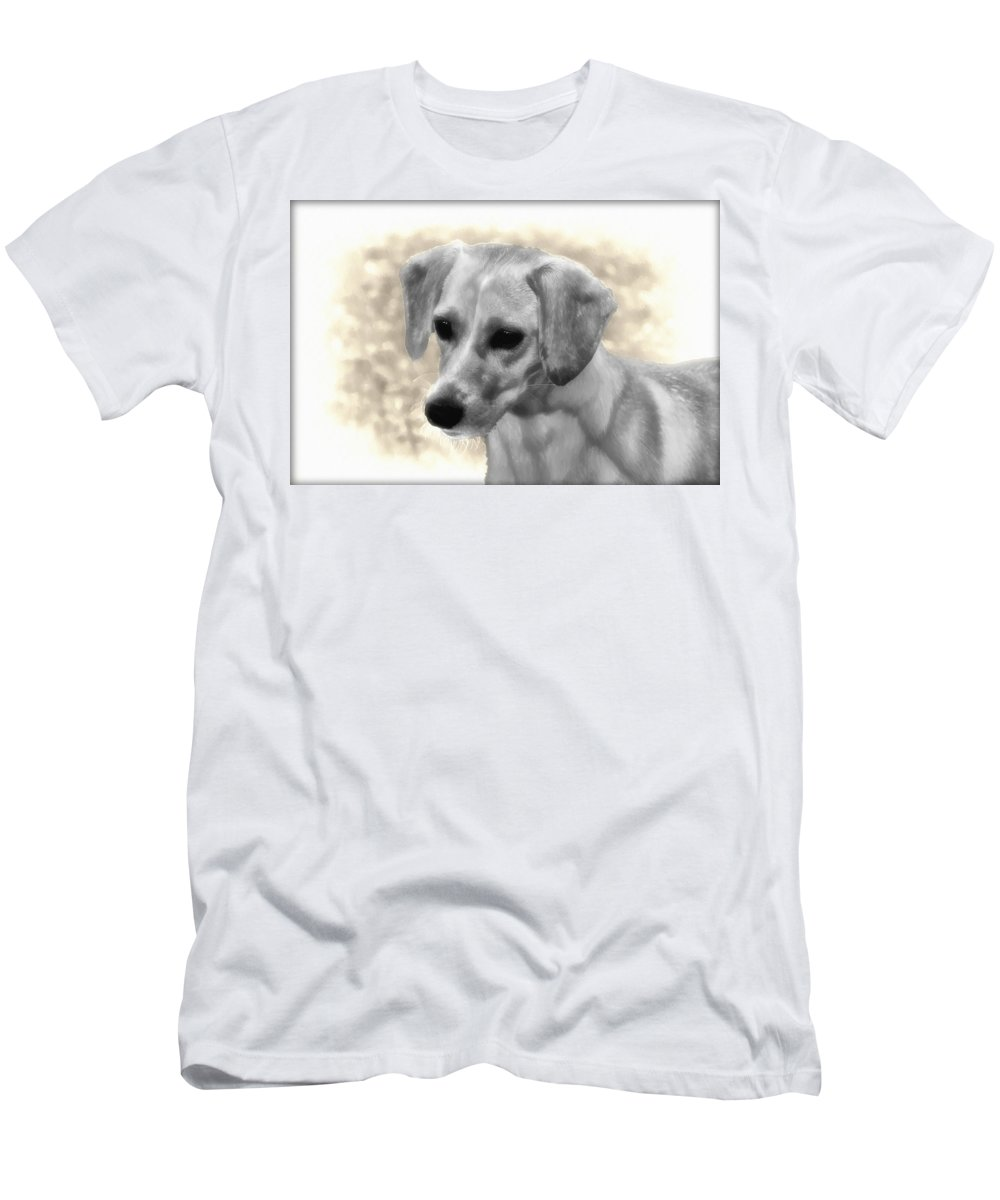 Puggles Men's T-Shirt (Athletic Fit) featuring the photograph Puggles by Bill Cannon