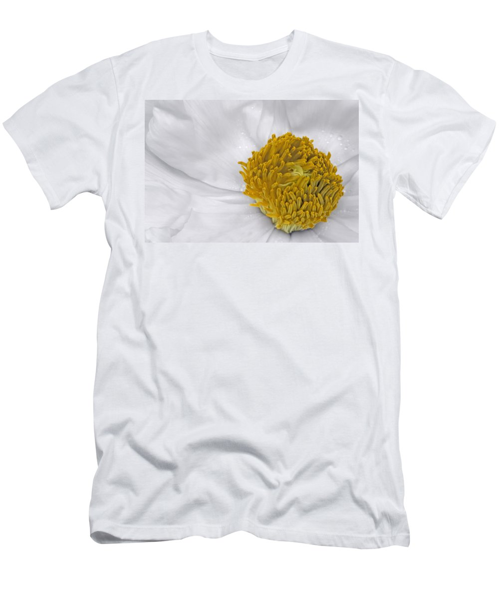 Anniversary Men's T-Shirt (Athletic Fit) featuring the photograph Pure And A Heart Of Gold by Susan Candelario