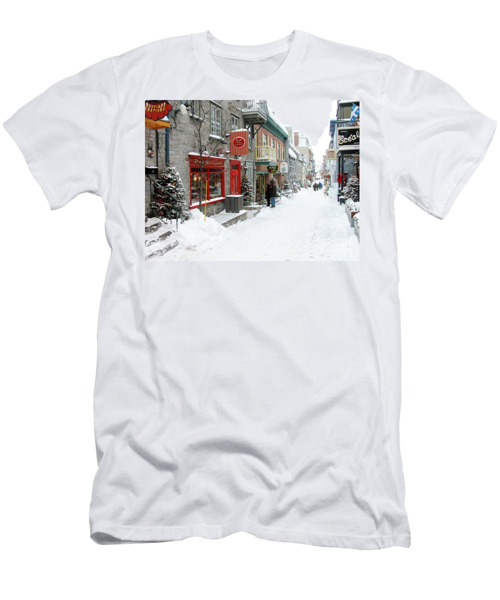 Quebec City Photographs T-Shirts