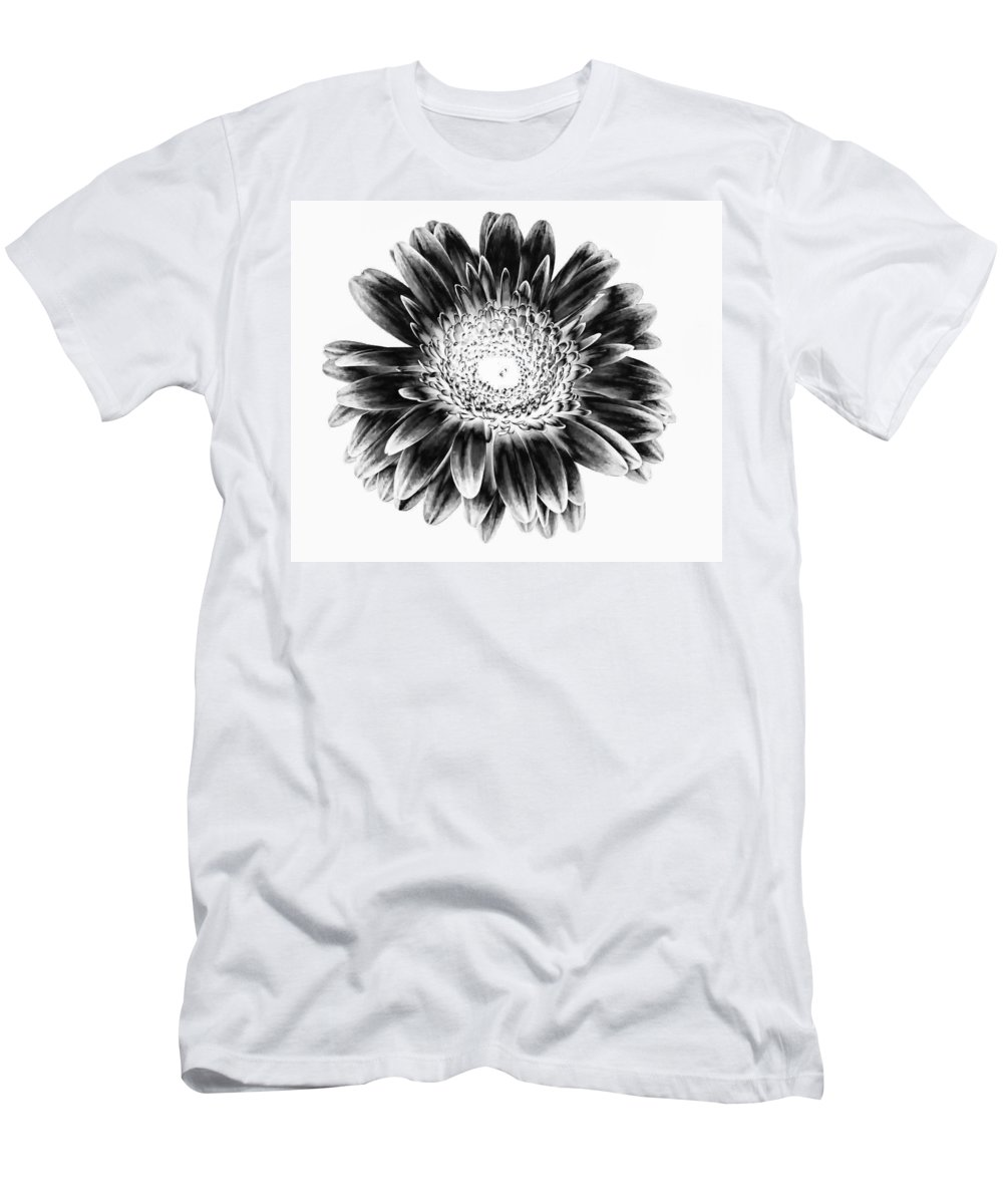 Gerber Men's T-Shirt (Athletic Fit) featuring the photograph Radiant Solarized by Steve Harrington