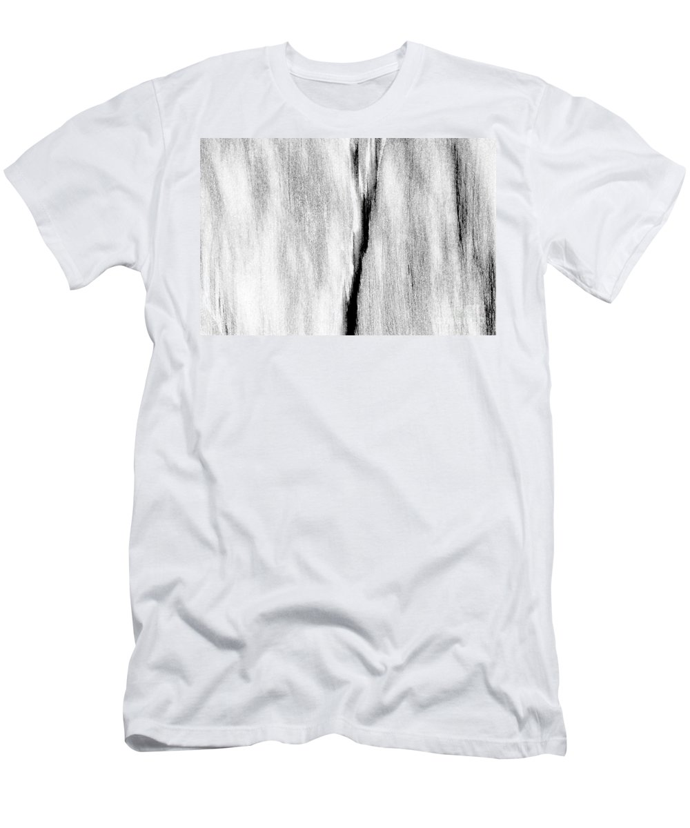 Abstract Men's T-Shirt (Athletic Fit) featuring the photograph Reach Out by Casper Cammeraat