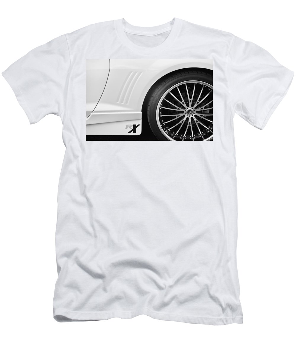 Rich Franco Men's T-Shirt (Athletic Fit) featuring the photograph Rx Camaro by Rich Franco