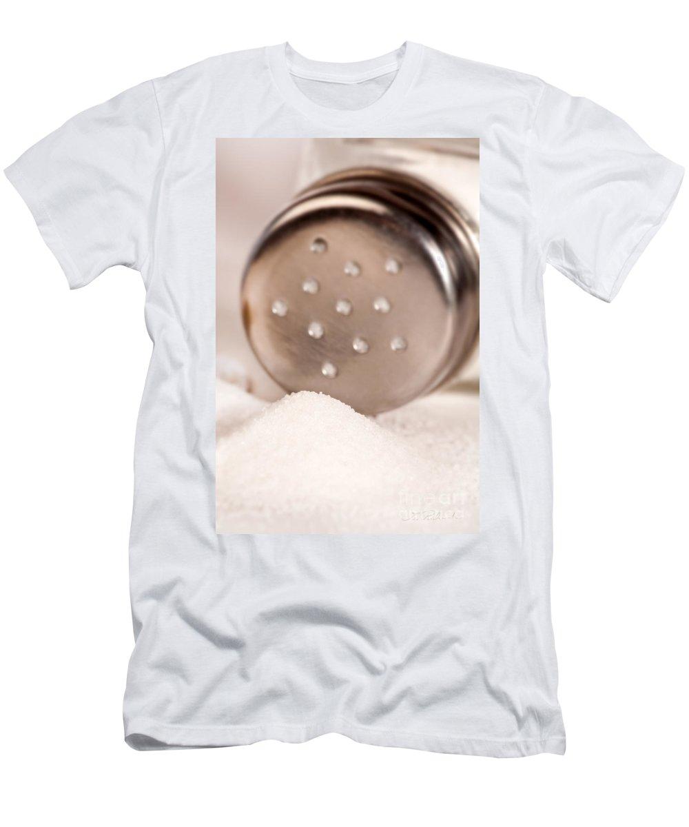 Iris Holzer Richardson Men's T-Shirt (Athletic Fit) featuring the photograph Salt Shaker by Iris Richardson