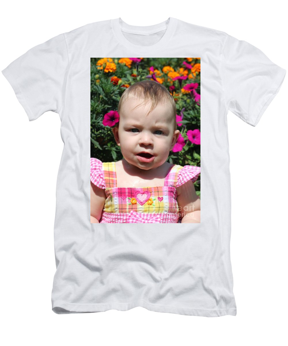 Sarah Men's T-Shirt (Athletic Fit) featuring the photograph Sarah_3927 by Joseph Marquis