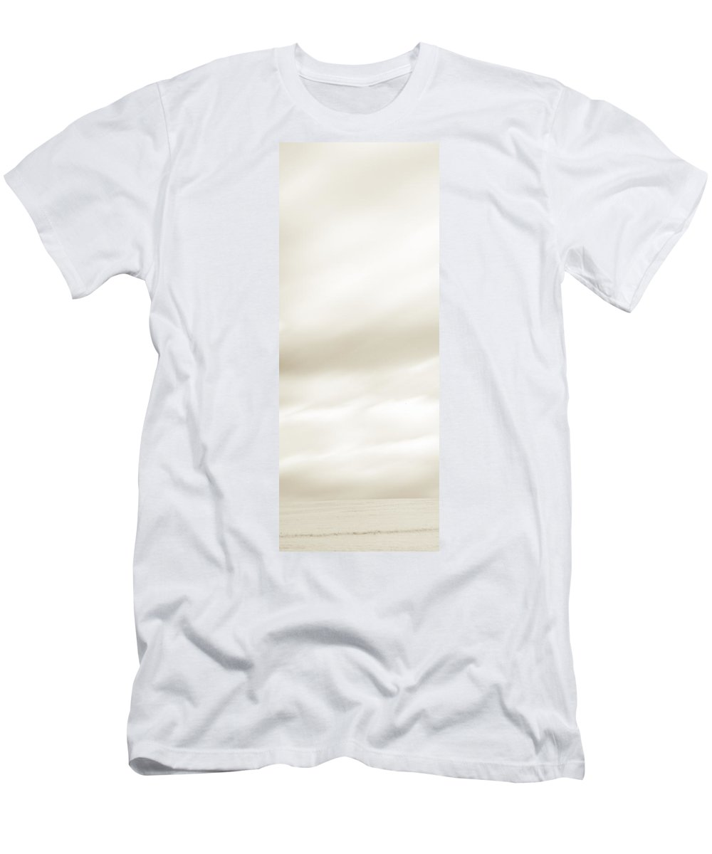 Autumn Men's T-Shirt (Athletic Fit) featuring the photograph Sepia Diptych Tree 13-0748 Set 1 Of 2 by U Schade