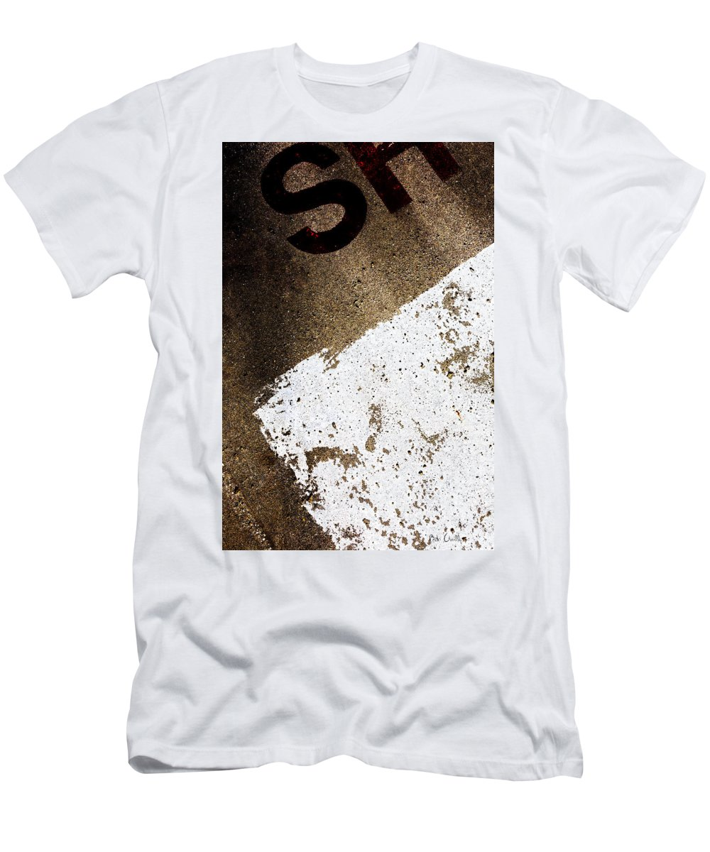 Abstract Men's T-Shirt (Athletic Fit) featuring the photograph SH by Bob Orsillo