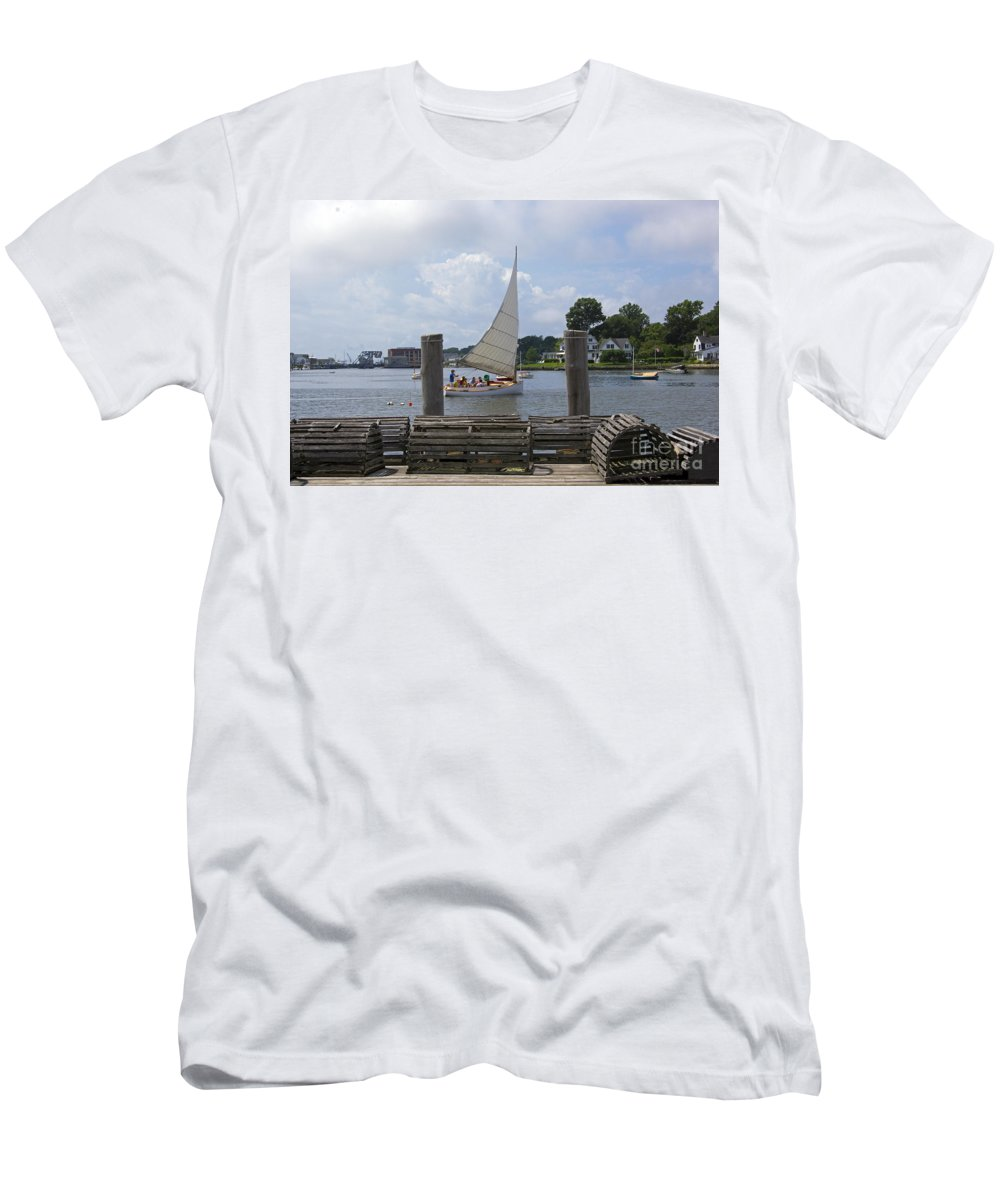 Mystic T-Shirt featuring the photograph Sick Day by Joe Geraci