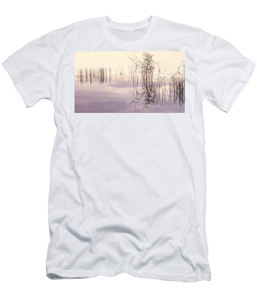 Nature Men's T-Shirt (Athletic Fit) featuring the photograph Silent Rhapsody. Sacred Music by Jenny Rainbow