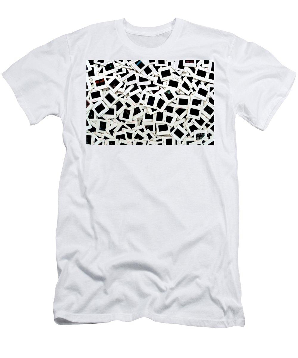 Slides Men's T-Shirt (Athletic Fit) featuring the photograph Slides by Olivier Le Queinec