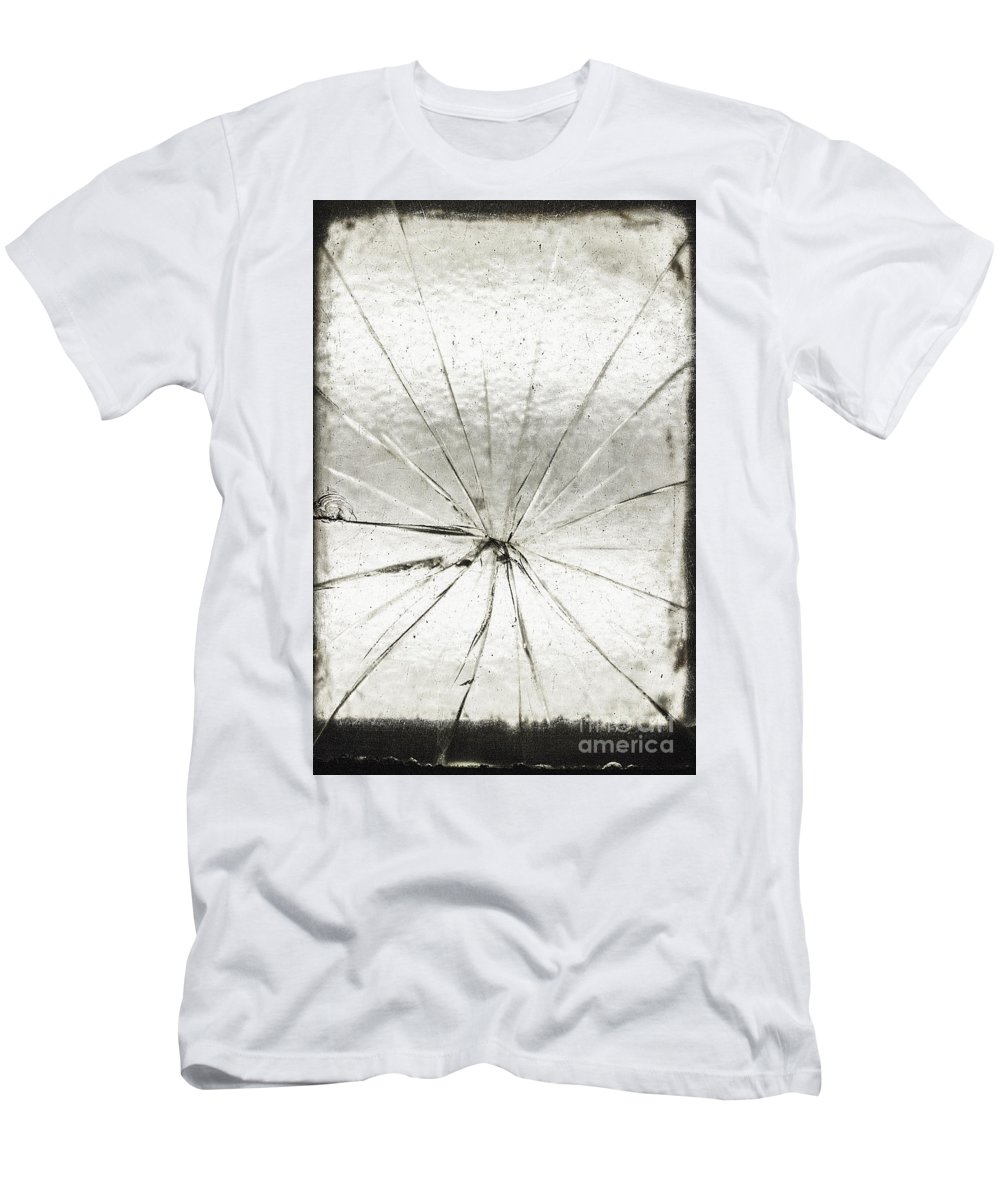 Glass Men's T-Shirt (Athletic Fit) featuring the photograph Smashing by Margie Hurwich
