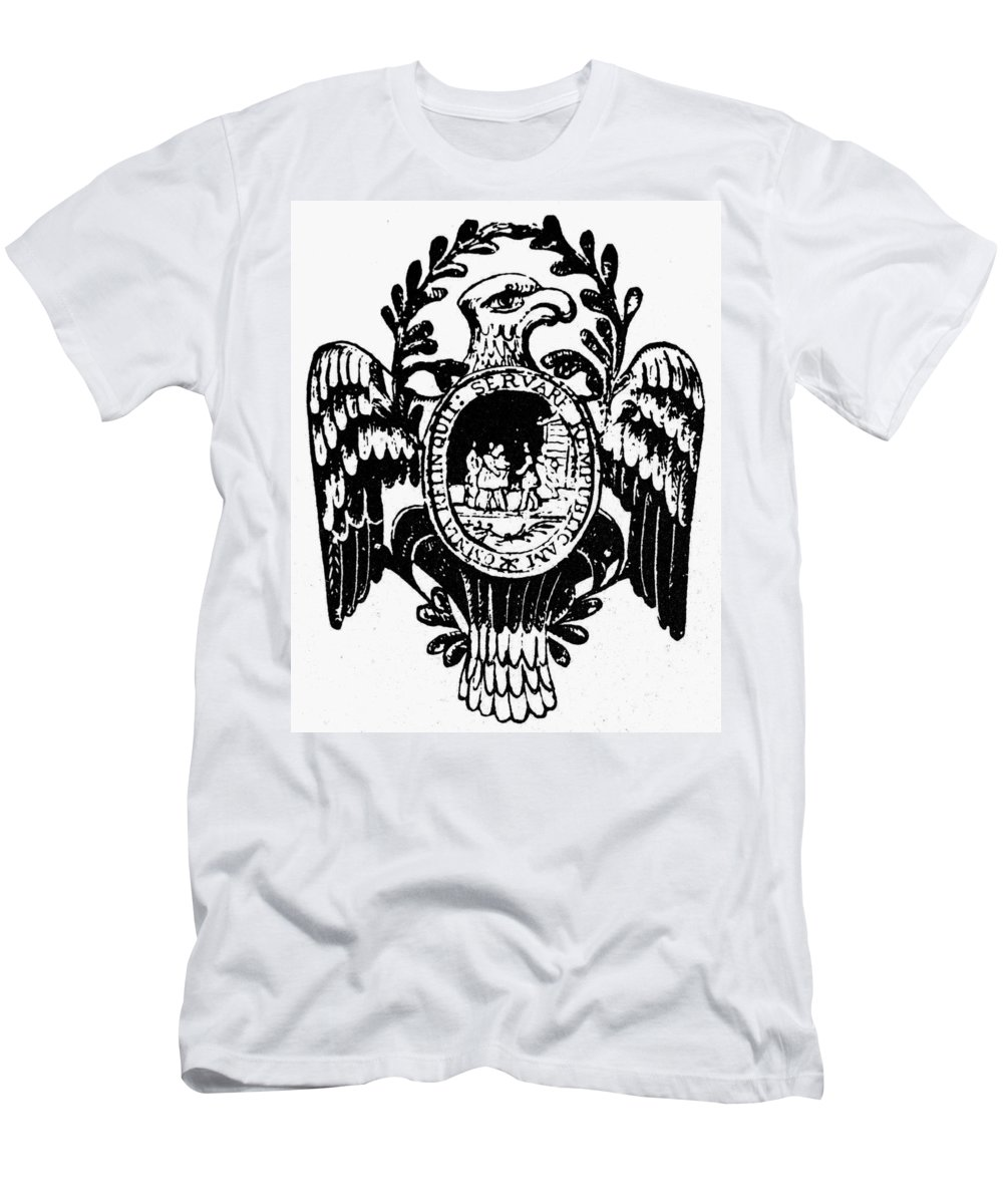 American Men's T-Shirt (Athletic Fit) featuring the photograph Society Of The Cincinnati by Granger