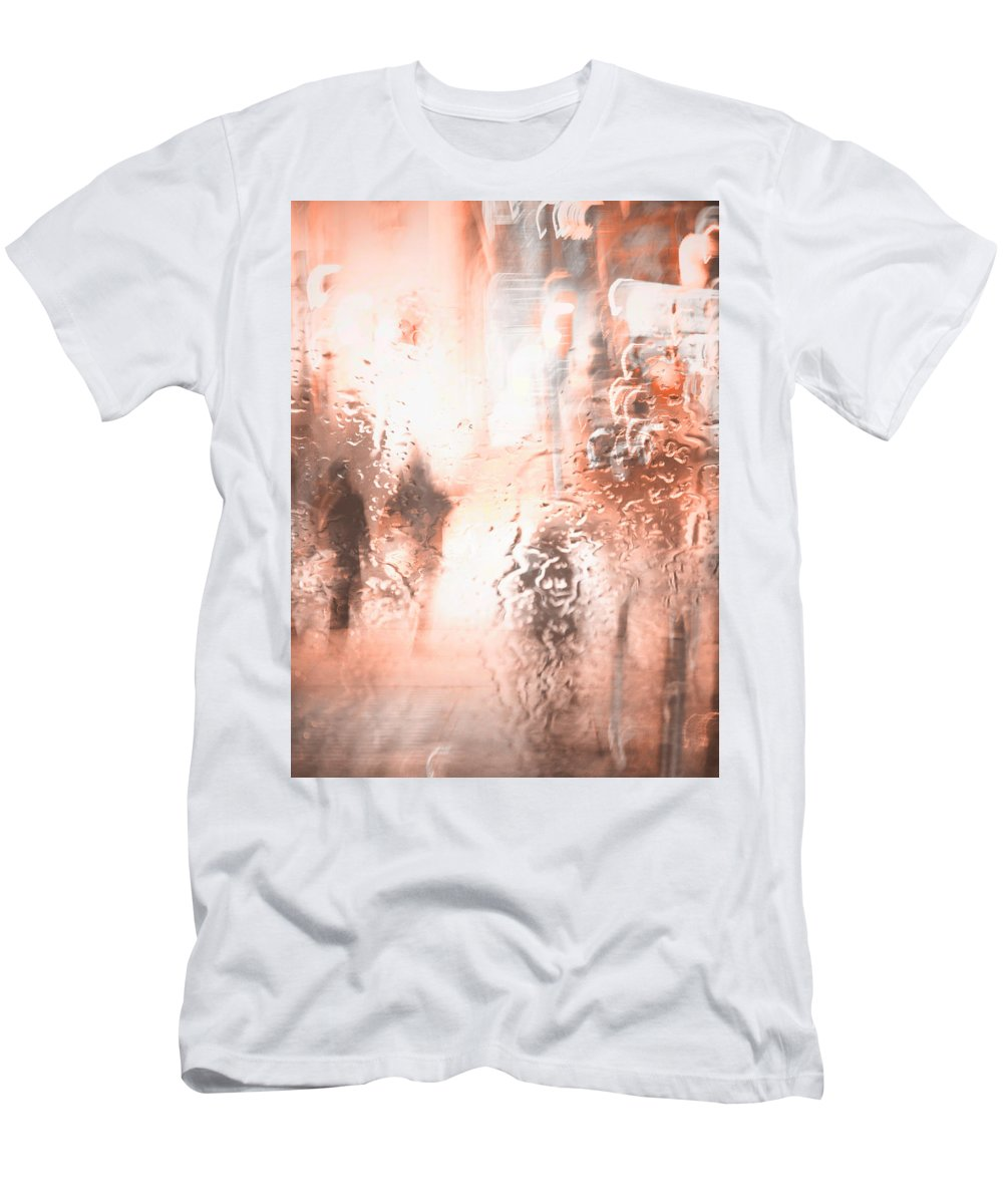 Vancouver Men's T-Shirt (Athletic Fit) featuring the photograph Sore Wounded Trails by The Artist Project