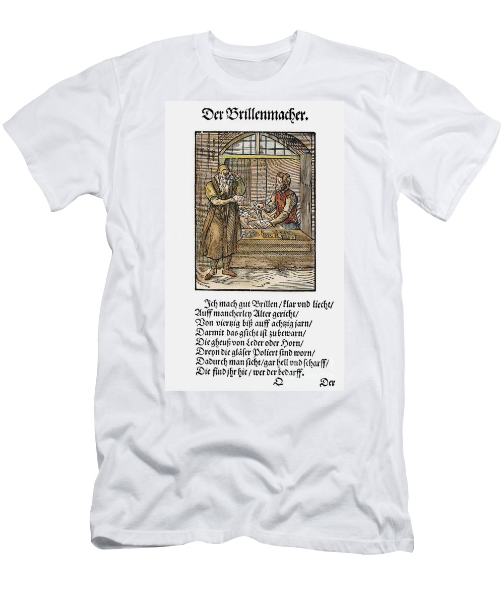 1568 Men's T-Shirt (Athletic Fit) featuring the photograph Spectacle Maker, 1568 by Granger